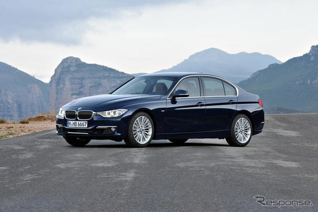 BMW 3シリーズ 新型に3つの個性 新型BMW3シリーズ(ラグジュアリーライン)前の写真へこの