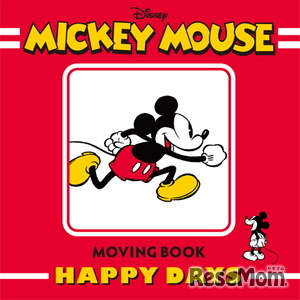 MICKEY MOUSE MOVING BOOK HAPPY DAYS