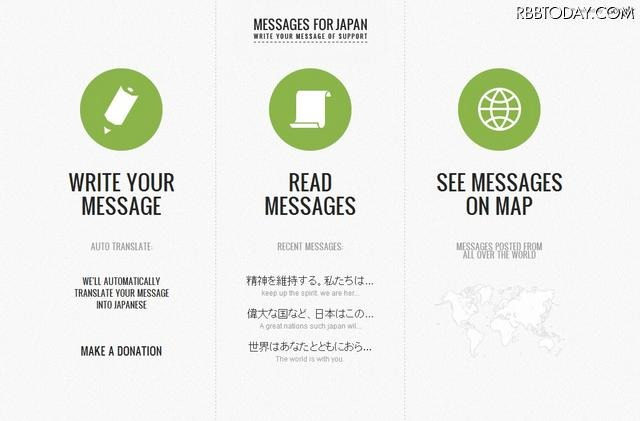 Messages for Japan Messages for Japan