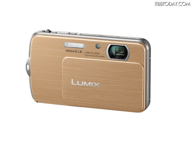 「LUMIX DMC-FP7」ゴールド 「LUMIX DMC-FP7」ゴールド