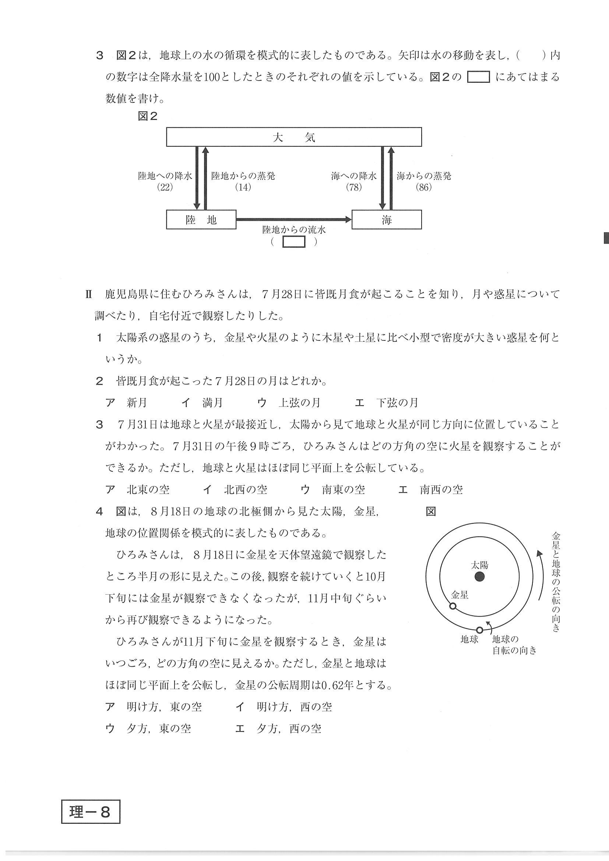 県 公立 倍率 入試 鹿児島 高校