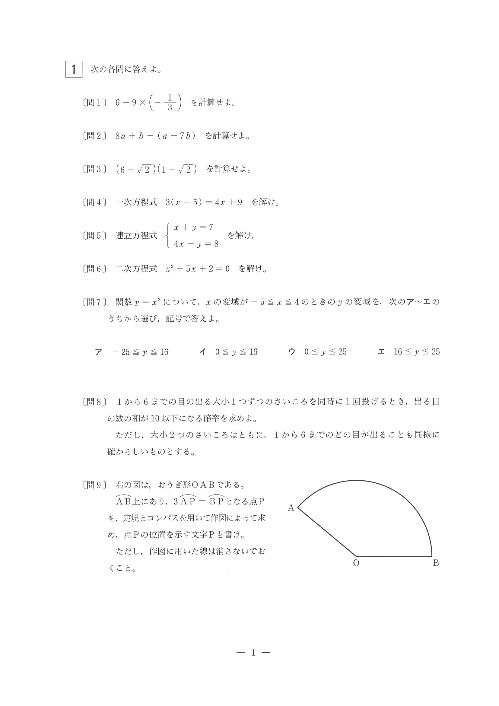 公立 首都 高校 入試 圏