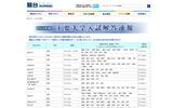 駿台予備学校「2012年度 主要大学入試解答速報」の画像