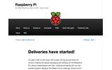 ラズベリーパイ、Webサイトの画像