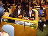 世界の高校生が激論、NYの模擬国連国際大会に実践女子が参加