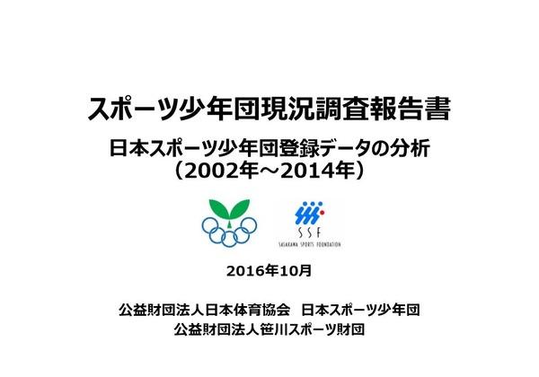 スポーツ 少年 団 日本