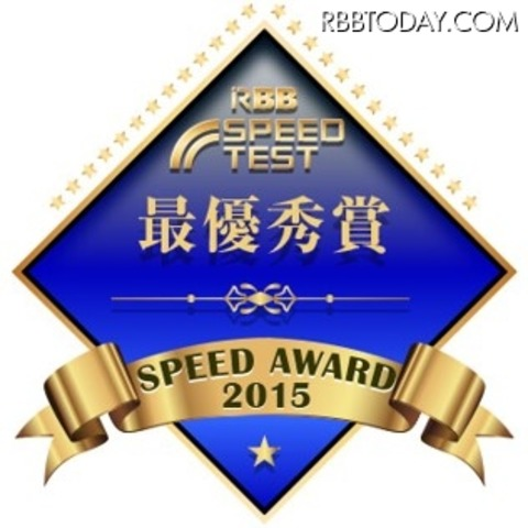 RBB SPEED AWARD 2015 受賞メダル