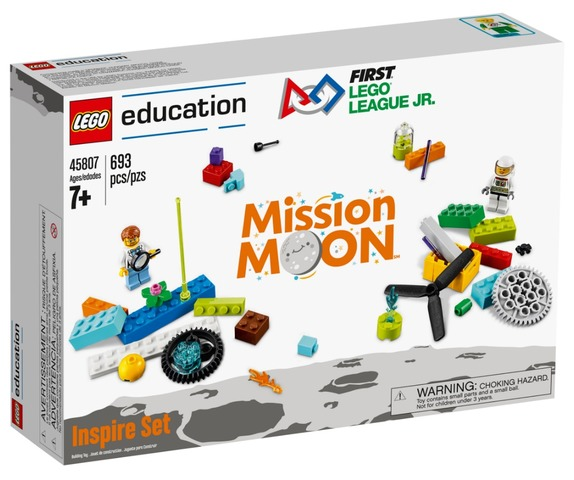 FIRST LEGO League Jr. Inspire Set (c) 2018 The LEGO Group.