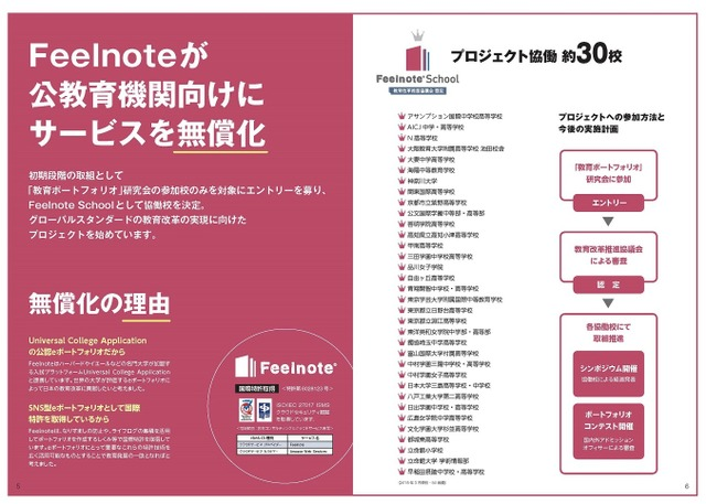 Feelnote School協働校
