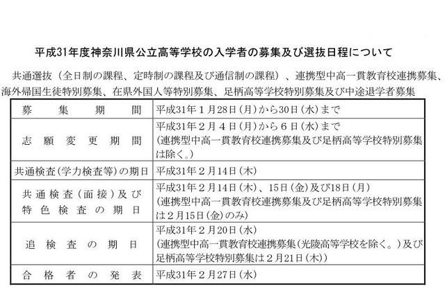 高校 神奈川 県 公立