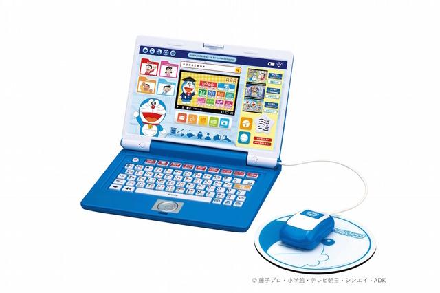 d6bab6d6e680f8 STEM分野1,000問以上収録、ドラえもんパソコン型学習玩具7/14発売 | リセマム