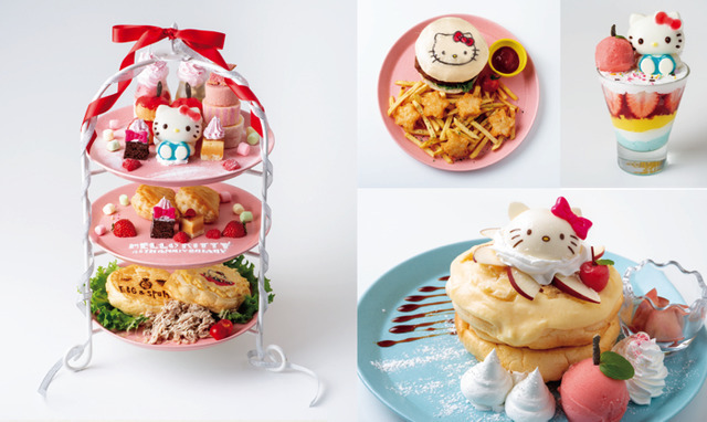 「EGG&SPUMA×HELLO KITTY 45TH ANNIVERSARY CAFE」(C) 1976, 1999,2019 SANRIO CO., LTD. APPROVAL NO. G593641