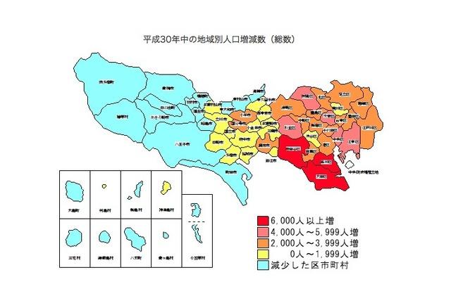 東京 別 コロナ 地域