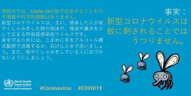 うつる コロナ 蚊 から 新型コロナは蚊に刺されてうつるのか?