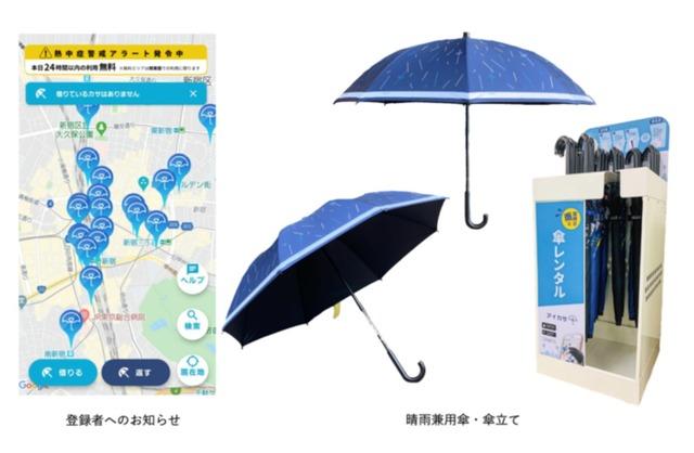 環境省、熱中症警戒アラート発表日に「日傘」無料レンタル | リセマム