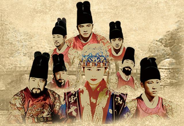全186話の韓国超大型史劇「王と...