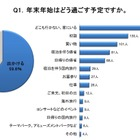 【年末年始】過ごし方と出費、お年玉の金額は甥・姪が最多で平均は1万円 画像