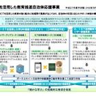 文科省「ICTを活用した学びの推進プロジェクト」に20地域を採択 画像