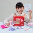 毛糸で縫える安心安全設計、子ども用ミシン発売 画像