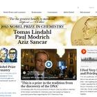 ノーベル化学賞、受賞は英米3名…10/9平和賞・10/12経済学賞 画像