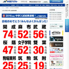 【中学受験2016】筑駒に25人合格…早稲アカ、昨年大きく上回る 画像