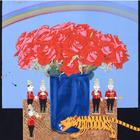 世界各地のおもちゃがモチーフ、中島千波「画家のひみつ」展 画像