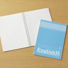 「書きやすい・かさばらない」ソフトリングノートに英習帳が仲間入り 画像