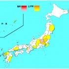 インフルエンザ、42都道府県で増加…群馬県で警報 画像