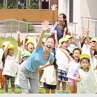 親子で学ぶ熱中症予防、保育園児がクリティア体操を実演 画像