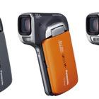 パナソニック、片手で撮れる縦型ビデオカメラ3機種、水中撮影も 画像