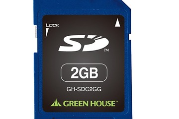 GREEN HOUSE製品「GH-SDC*Gシリーズ」http://www.green-house.co.jp/products/pc/memorycard/sd/gh-sdc_g/