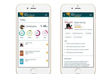 Introducing Discussion Cards and Parent Dashboard-new ways for families to discover, share, and connect through Amazon FreeTime (Photo: Business Wire)