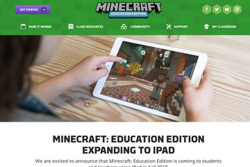 Minecraft: Education Edition expands to iPad
