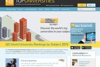 分野別QS世界大学ランキング2015、東大は6分野でトップ10入り 画像