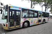 子どもの絵がバスの車体に、作品募集「バスフェスタ2015」 画像