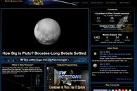 米無人探査機が冥王星へ、14日21時に最接近