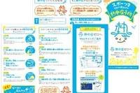 日本気象協会、甲子園で熱中症対策を呼びかけ 画像