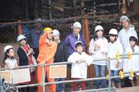 【ワークショップコレクション11】東急東横店の解体現場に親子20名が潜入…未来のシブヤ発見ツアー 画像