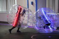 【ワークショップコレクション11】走って跳ねて転がって、未来の新スポーツ「ピカリバブル」 画像