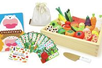 遊びながら食に親しむ、木製おままごと玩具発売 画像