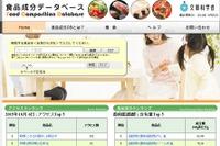 アレルギー配慮食品も掲載拡充、日本食品標準成分表改訂 画像