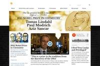 ノーベル化学賞、受賞は英米3名…10/9平和賞・10/12経済学賞