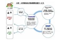 制作から印刷まで…DNP・東大・丸善、教材開発支援を開始 画像