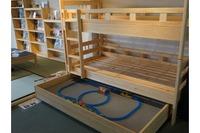レゴやプラレールをそのまま収納、秘密基地2段ベッド発売 画像