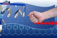 早大が「電子ナノ絆創膏」開発…筋肉の活動電位を測定 画像