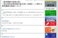 「学校なくさないで」…どうなる神奈川県立高校の統廃合、改革案に関する意見公開 画像