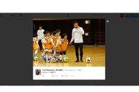 サッカー日本代表長友佑都、広島で小学生とサッカー交流