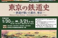 「東京動脈」の展示も…都立中央図書館で鉄道史企画展1-3月 画像