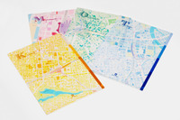 お好きな街はどれ?地図がデザインされた文房具、ゼンリン
