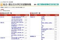 【大学入試2016】国公立2次試験の願書受付開始…予備校が速報